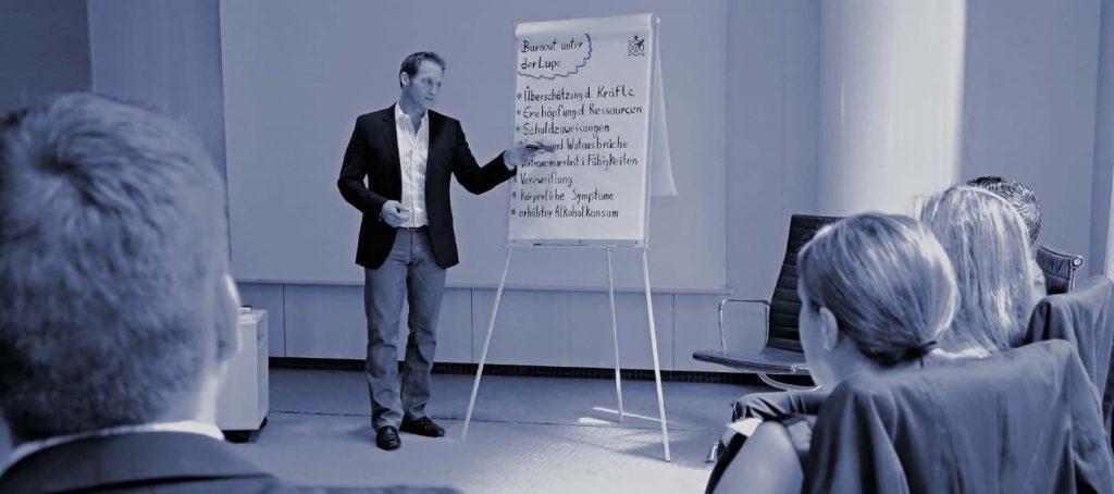 Dirk Jakobsen Seminar: Burnout unter der Lupe